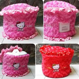Cover Rice Cooker Hello Kitty / Sarung Magic Com Kitty STOK TERBATAS
