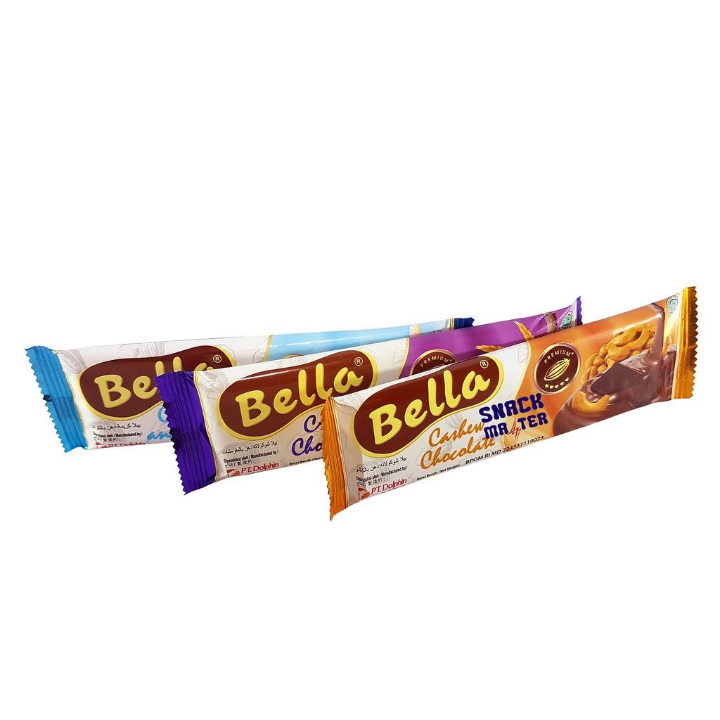 Bella Cokelat Compound Susu - Netto 50 gr