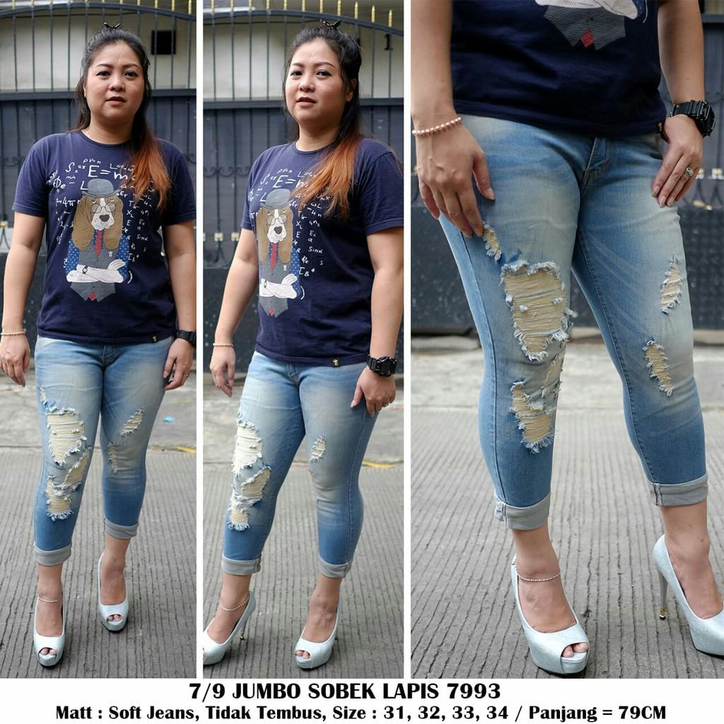jeans jumbo - Temukan Harga dan Penawaran Jeans Online Terbaik - Pakaian Wanita Januari 2019   Shopee Indonesia