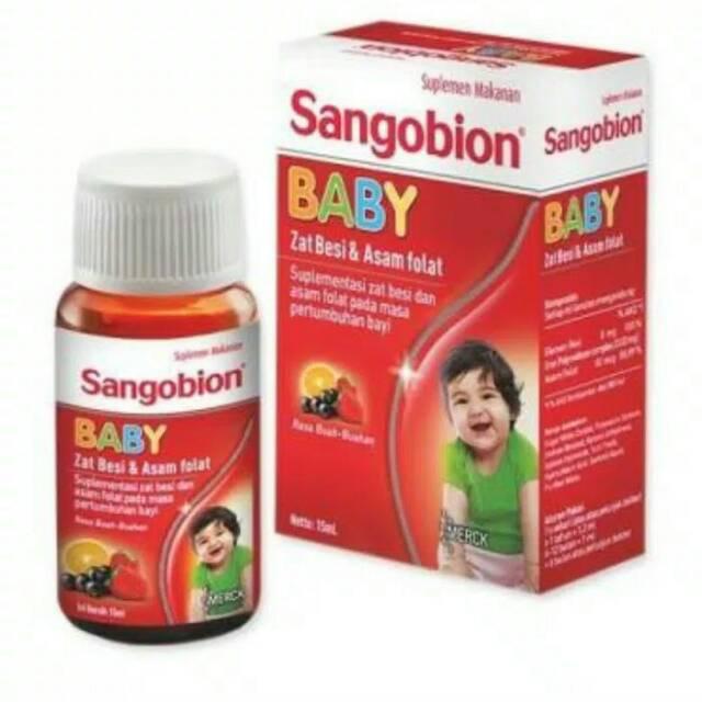 Bisa Cod Sangobion Baby Drop Vitamin Zat Besi Penambah Darah Untuk