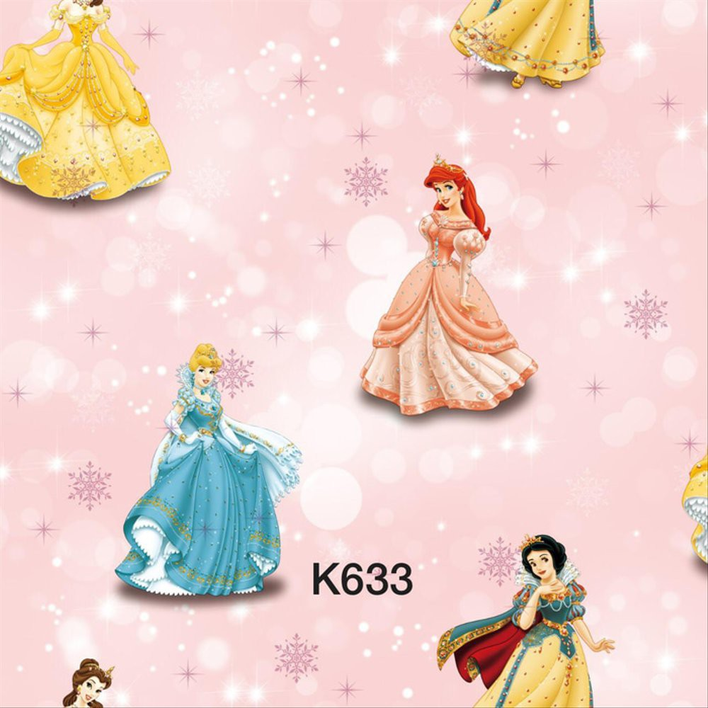 Laris Wallpaper Dinding Anak Motif Princess Disney Murah