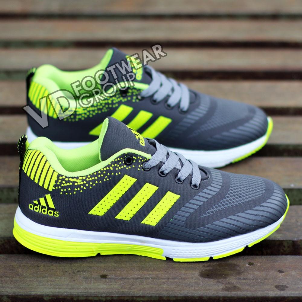 f85355e8e36 BEST SELLER MINGGU INI ! Sepatu Running Adidas Pria Lari Sport Jogging  Murah Grade Original