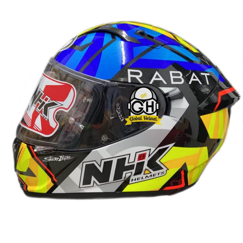 HELM NHK FULL FACE NHK GP PRIME MOTIF TITO RABAT BLACK GLITTER