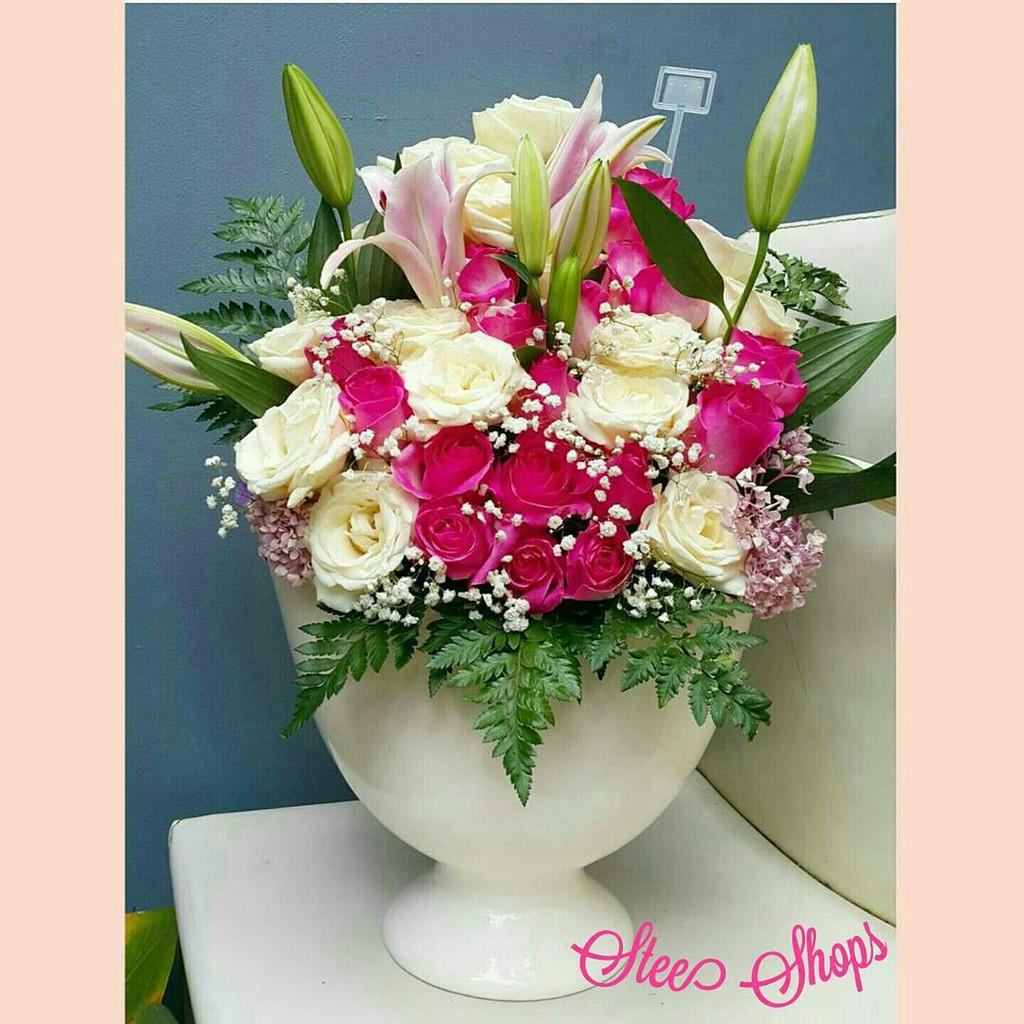Buket Bunga Mawar Kain Isi 8 Tangkai Bouquet Sabun Kartu Ucapan Kado Unik Wisuda Ultah Pacar Hadiah Gift Shopee Indonesia