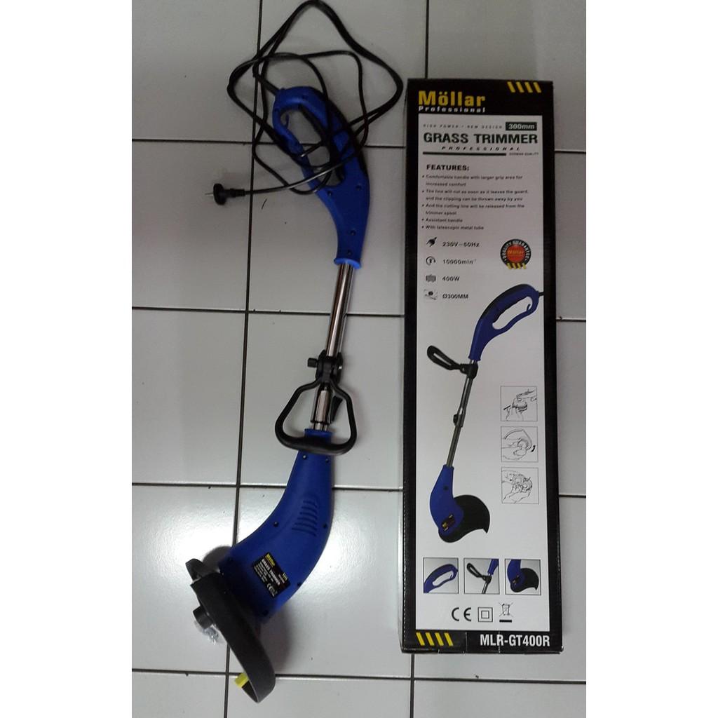 Krisbow Mesin Potong Rumput Listrik Electric Grass Trimmer 300 Watt Backpack Brush Cutter 125kw Kw2001355 250mm 350watt 10070583 Shopee Indonesia