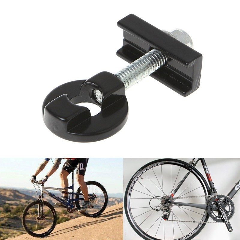 Bike Chain Adjuster Tensioner Fastener Aluminum Alloy Bolt For BMX Fixie Bicycle