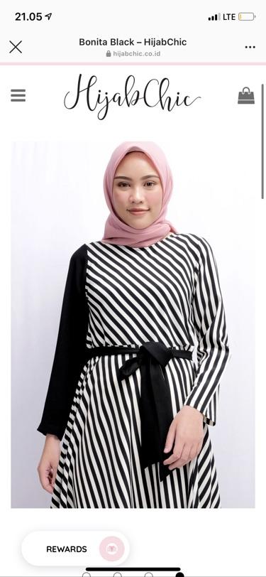 Hijabchic Bonita Dress Shopee Indonesia