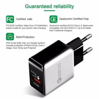DESKTOP USB 4 SMART PORTS + 1 QUICK CHARGE 3.0 PORTS + 1 TYPE C   Shopee Indonesia