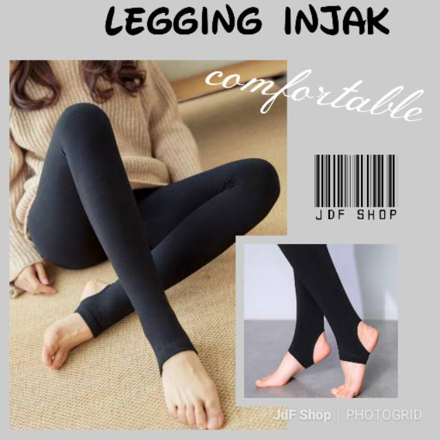 Jdf Shop Legging Injak Celana Panjang Shopee Indonesia
