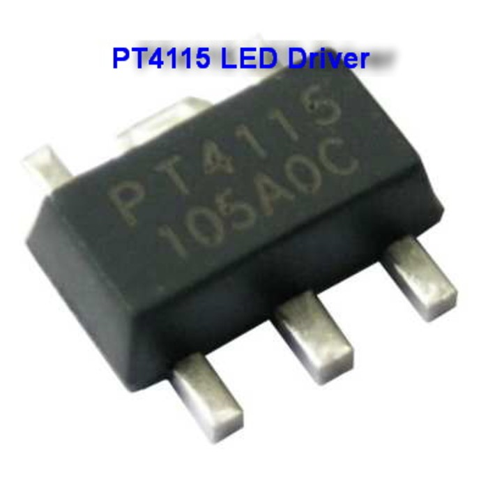 30V 1.2 A PT4115 SOT-89 Step-Down Power LED-Treiber IC