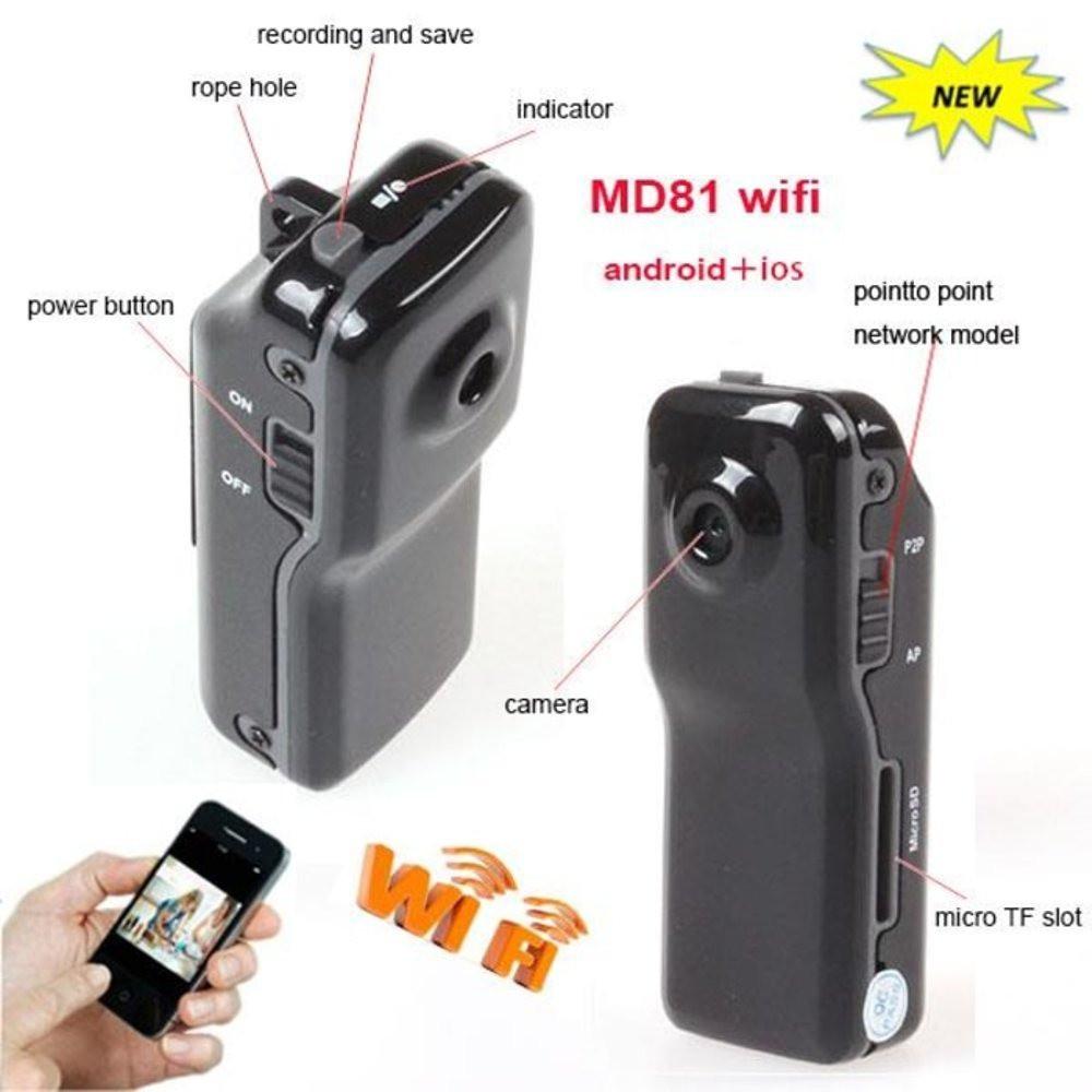 Mini Hd Wifi Camera Md81 P2p Bl Cctv Draagon Shopee Indonesia 1080p Ip Hidden Spy Led Bulb Real Light Lamp Wireless Ir Nightvision Kamera Pengintai Berbentuk Bohlam