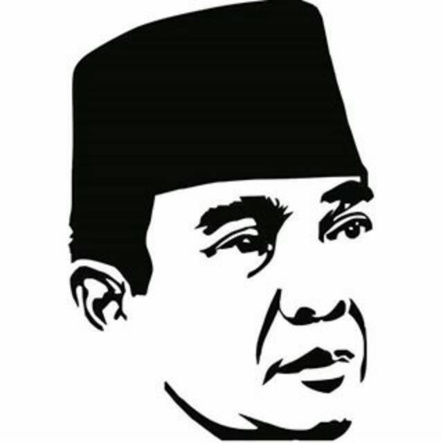 Stiker Soekarno Shopee Indonesia