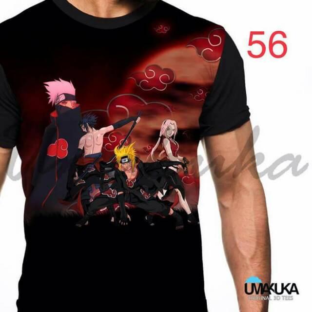 Tshirt Anime Akatsuki56 Keren Abis Shopee Indonesia