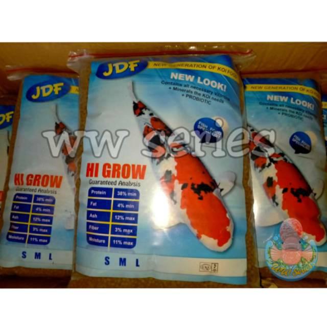 JDF Hi Grow 1kg Pakan Ikan Koi Food Murah Berkualitas