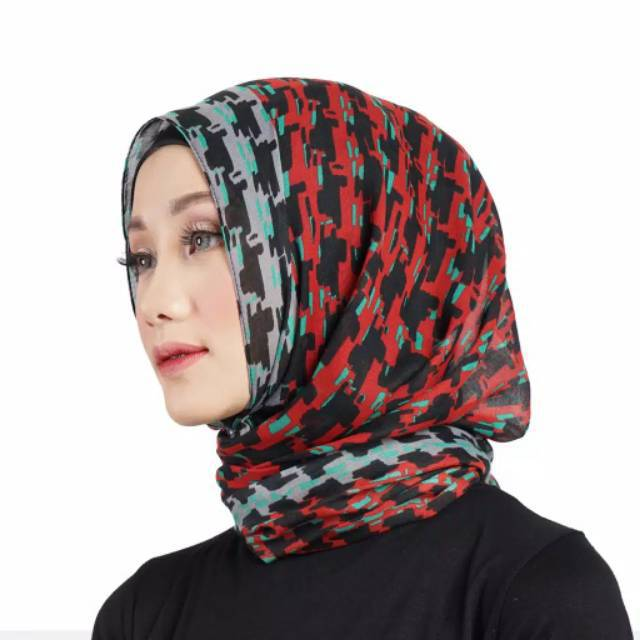 Jilbab Pashmina Dauky F Abree Hijab Elzatta Kerudung Dauky Shopee Indonesia