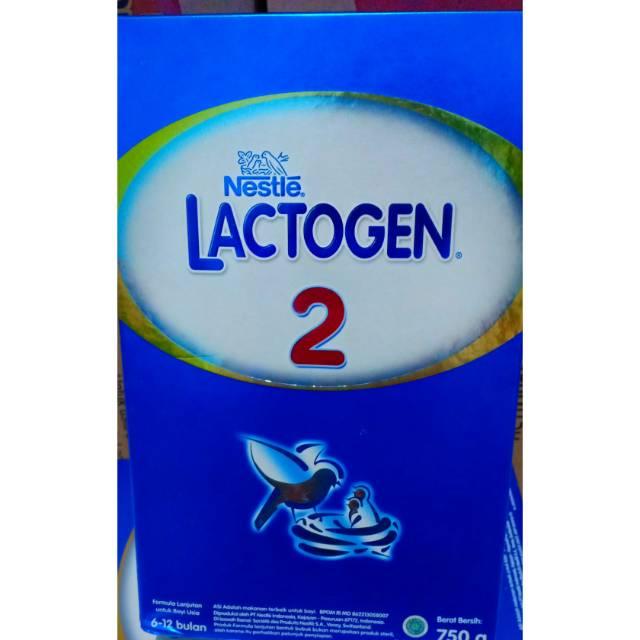 Lactogen 2 750 gr exp April 2020