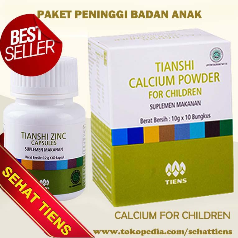Vitamin Nafsu Makan Anak Alami Zinc Tiens Herbal Vitamin Anak Sehat