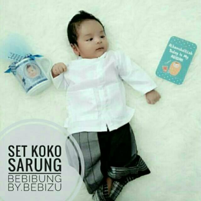 98 Gambar Baju Aqiqah Bayi Lelaki Kekinian