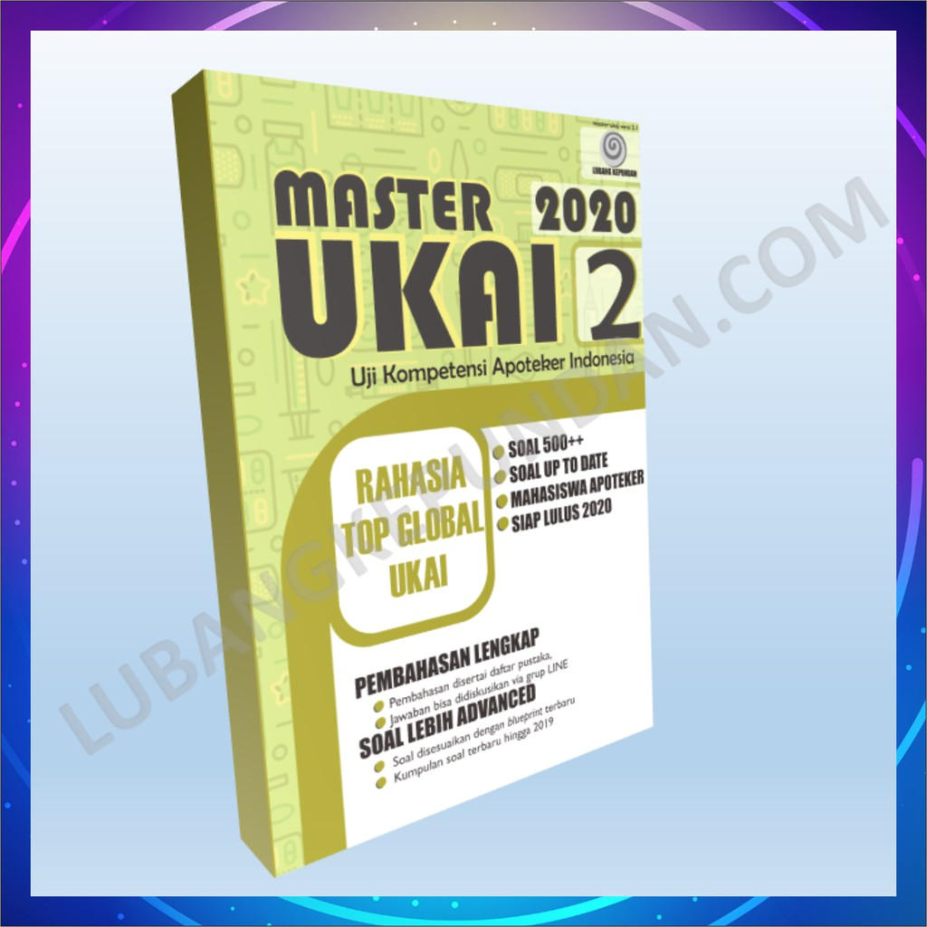 New Ori Buku Master Ukai 2 1 2020 Farmasi Apoteker Shopee Indonesia