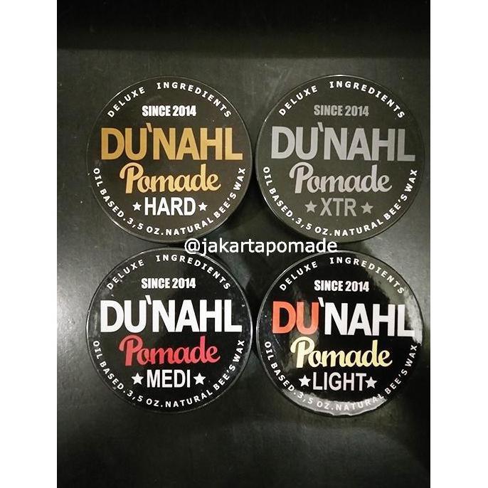 Du'Nahl Light , Medi Medium , Hard , Xtr Dunahl Pomade Oilbased - Grooming - Hair Wax & Pomade | Shopee Indonesia