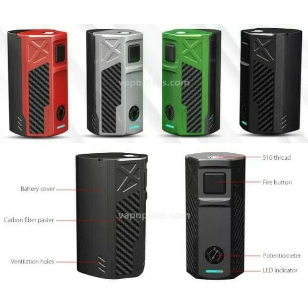 Terbaru Tesla Invader 2 3 Mod Authentic 240w 350w 2 3 Battery By Tesla Cigs Limited Shopee Indonesia