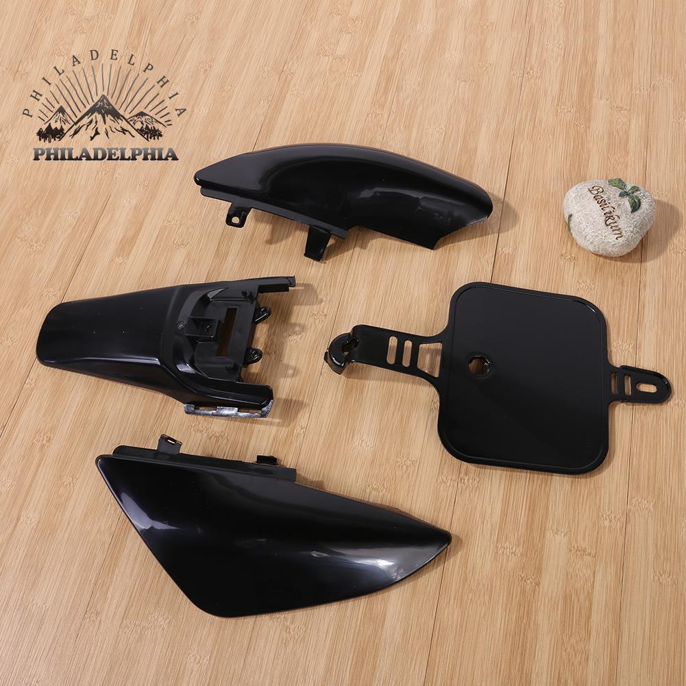 Black Plastics Fairing For Honda CRF XR 50 CRF 125cc SSR PRO Pit Dirt Bike