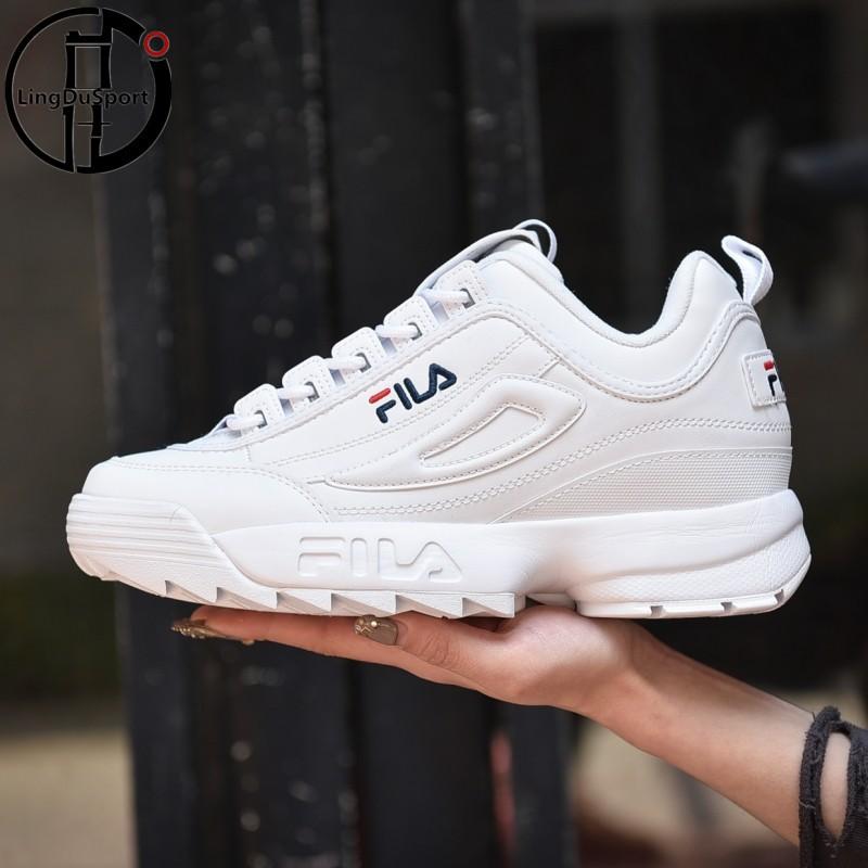 FILA DISRUPTOR II Premium BNIB  Sneakers Sepatu Pria Dan Wanita ... 65bac0c508