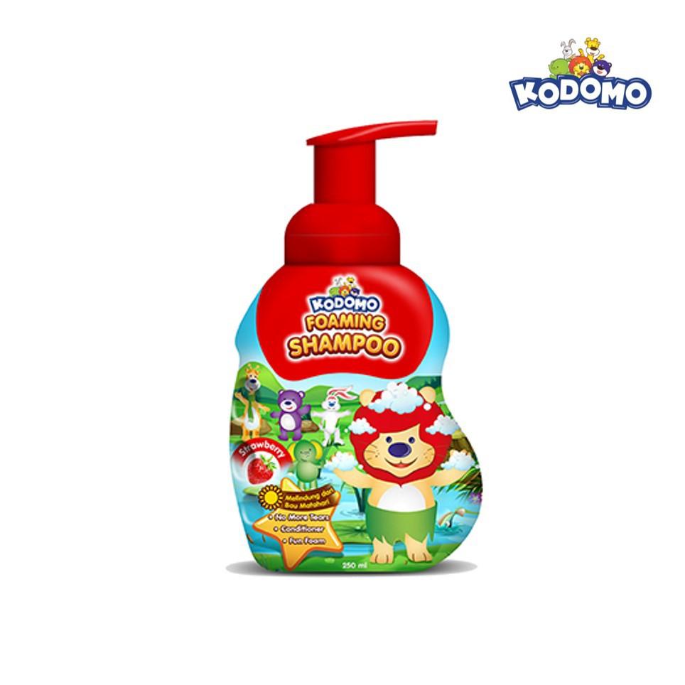 KODOMO Shampoo STRAWBERRY Botol 250ML-2
