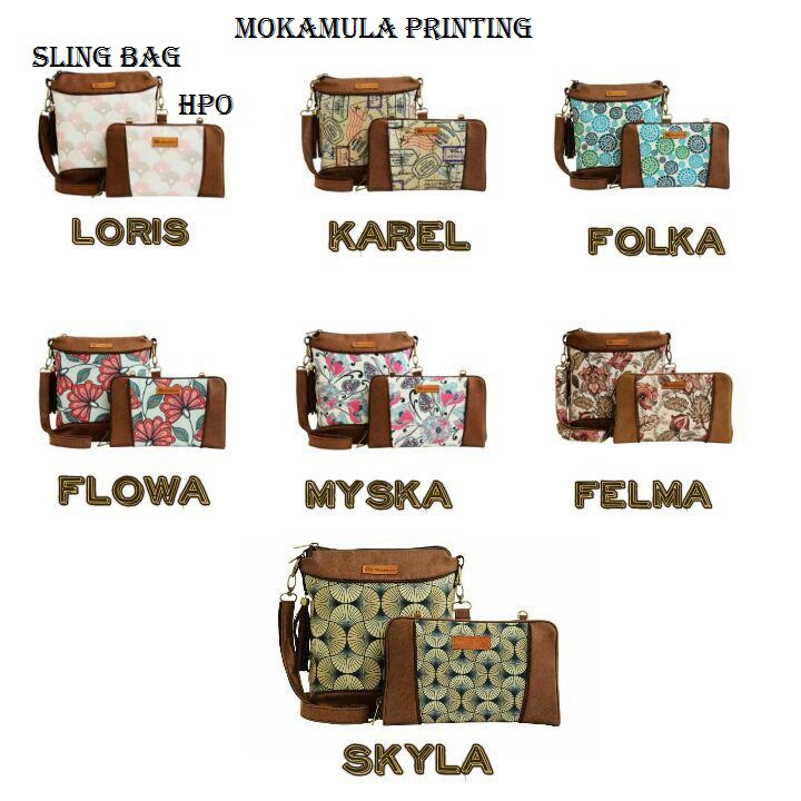 Tas Selempang Etnik / Dompet Etnik bisa selempang / Slingbag + HPO Mokamula | Shopee Indonesia