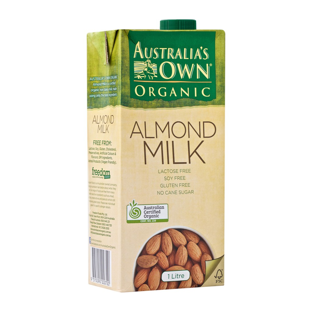 Almond Milk Australia's Own Organic