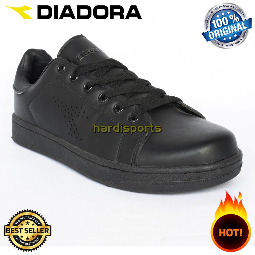 Sepatu Casual Sneaker Unisex Diadora Corradu (U) DIACA6220BLK - Black  ORIGINAL 003a3832e5