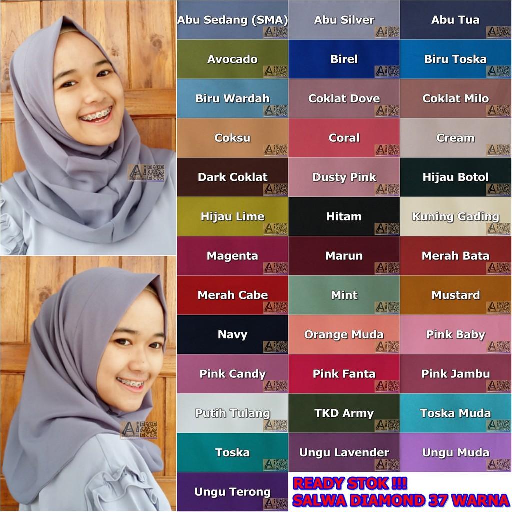 Hijab Instan Salwa Diamond Silastore Shopee Indonesia