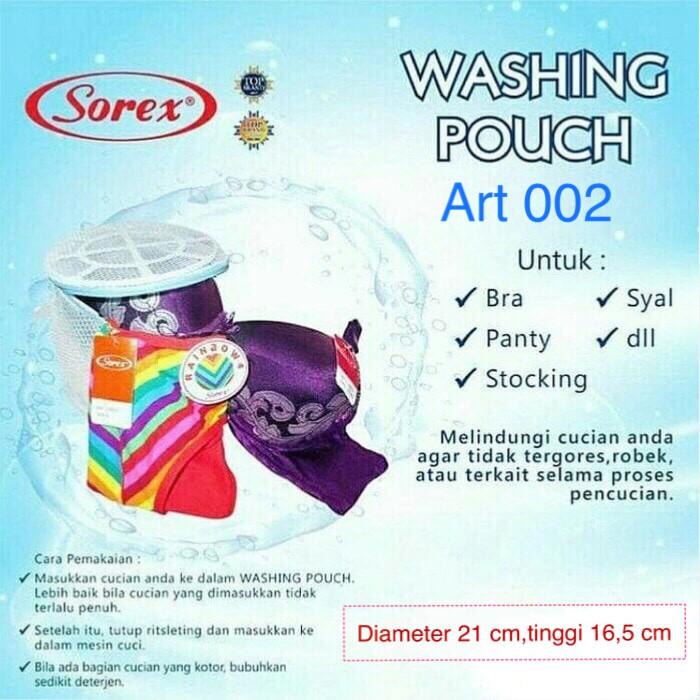 Keranjang Kantong Cuci Laundry Bag Cuci di Mesin Cuci Sorex 002 | Shopee Indonesia