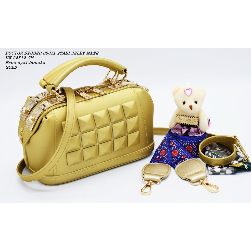 TAS CHANEL BOY STUDED A8014-13 JELLY MATTE UKURAN BESAR 26CM ... c2bc09a517