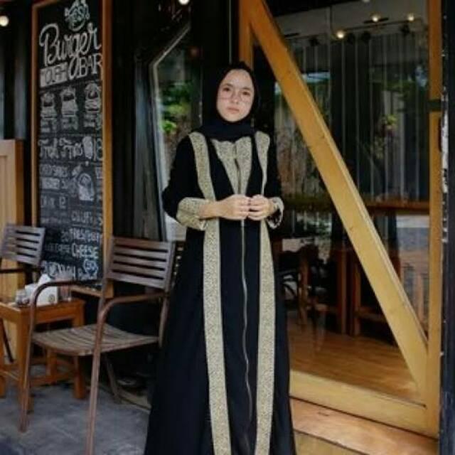 Terbaru Abaya Nissa Sabyan Ori 2018 Shopee Indonesia