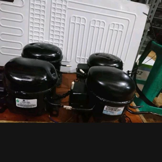 Monggo] Kompresor Kulkas Bekas Second 1/8 1Pintu