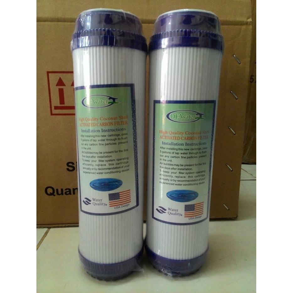 GAC Granular Activated Carbon Dewater untuk Filter Air / RO 10 inch | Shopee Indonesia