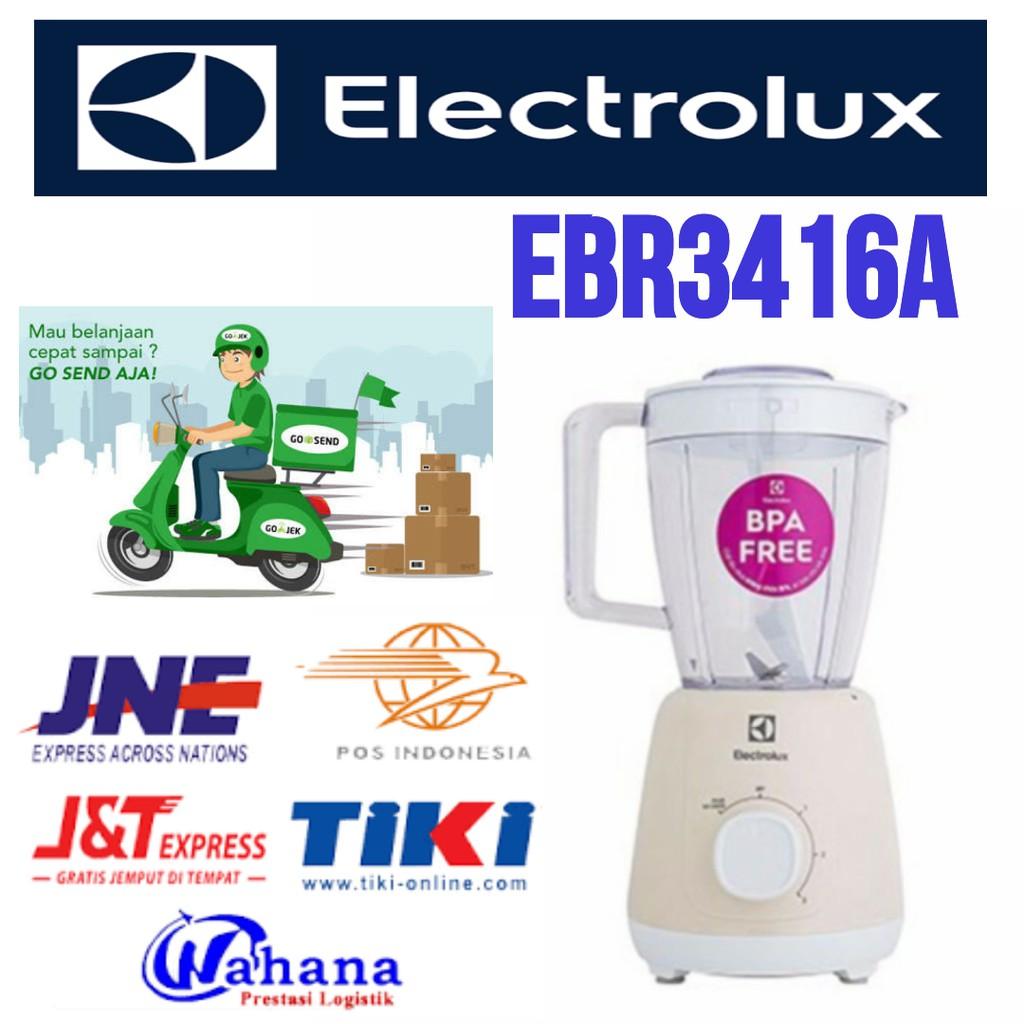 Electrolux Blender 17 Liter Jar Kaca Ebr3646 Shopee Indonesia Philips Hr2116 Hijau Putih