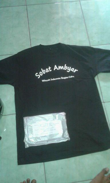 Kaos Sobat Ambyar Indonesia Free Stiker Sobat Ambyar Shopee