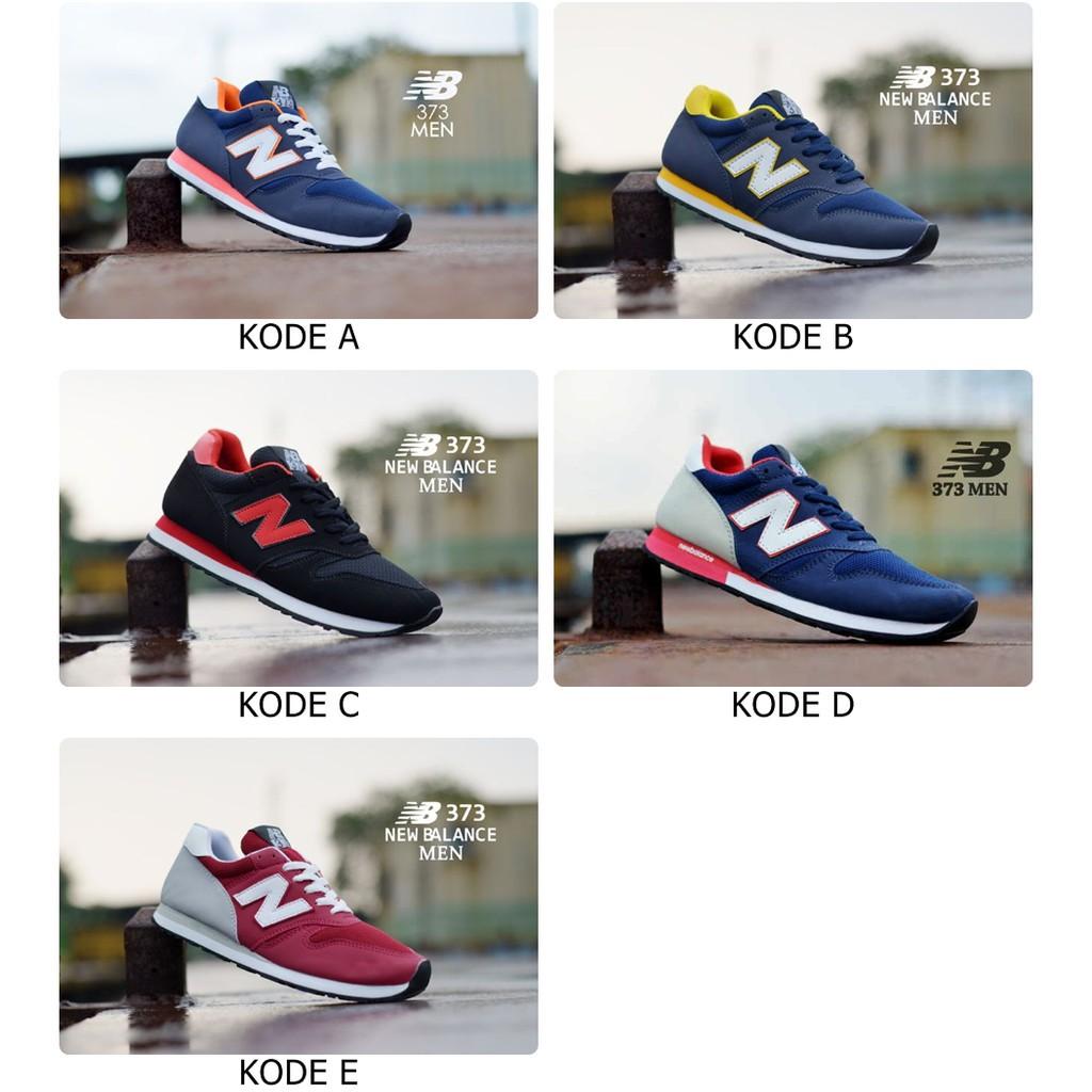 Sepatu Sport Pria NB New Balance 373  7292cc183b