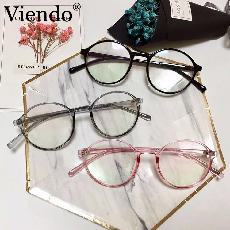 Viendo Korea Style Bulat Kacamata Pria Wanita Anti Radiasi Kacamata Komputer   b40f96defc