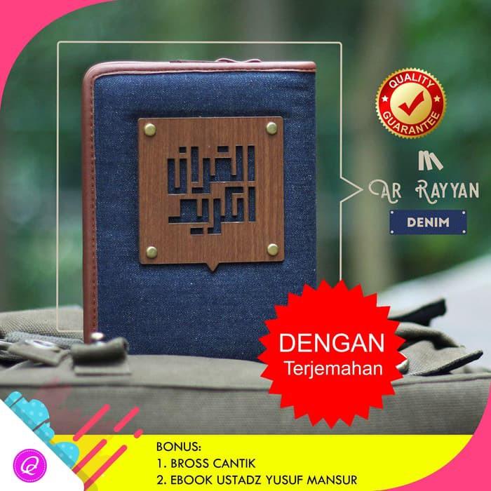 Al Quran Terjemahan Madina Alquran Tajwid yan Denim Best Quality | Shopee Indonesia