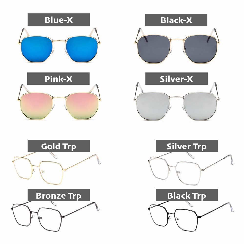 Kacamata Hexagon (Design Korea) Pria dan Wanita - Model Vintage ( Group ) -  KTK  40d0e2ce5e