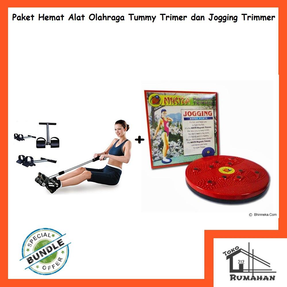 Alat Olahraga Pengecil Perut Fitness Tummy Trimmer Hitam Jogging Plate Magnetic Portable Shopee Indonesia