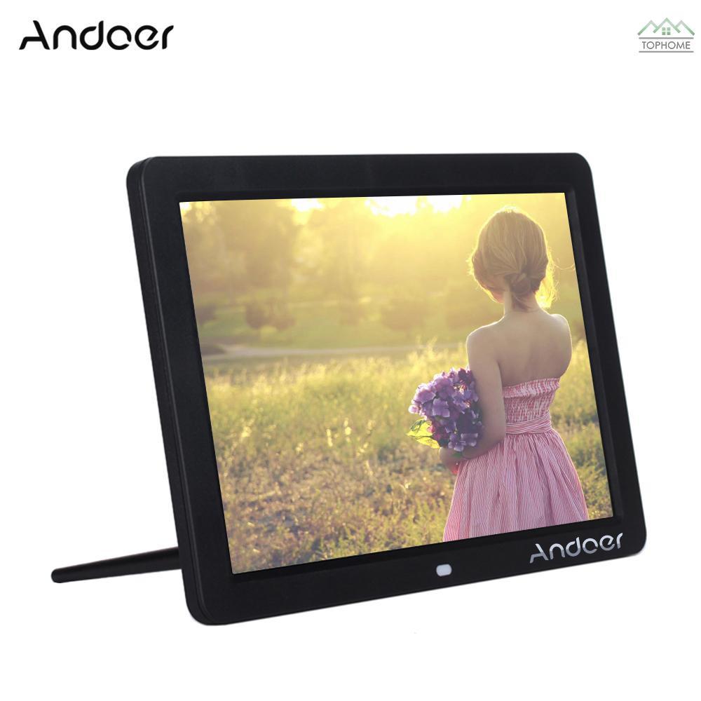 ANDOER Bingkai Foto Digital Layar Lebar HD LED 1280 800 1280 800