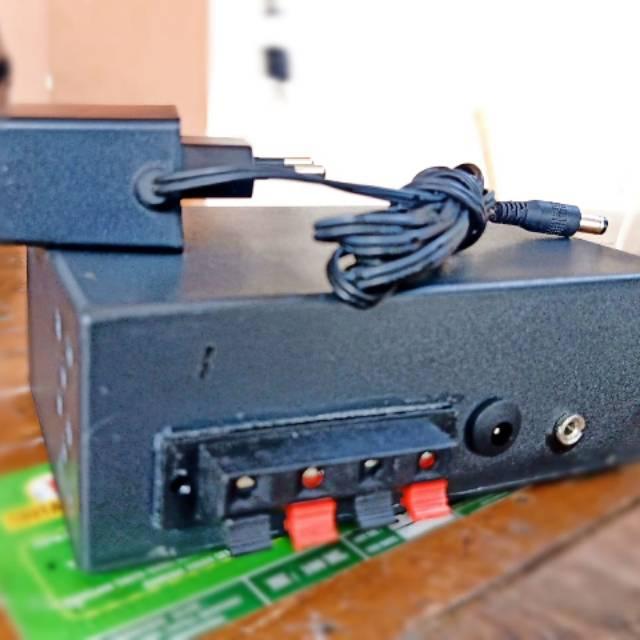 Amplifier + subwoofer