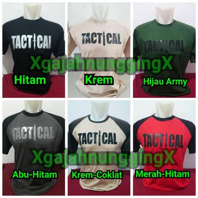 Kaos Tactical Army Nyaman Awet Berkualitas Cotton Ripstop Tebal Militer KTCCRSDD   Shopee Indonesia