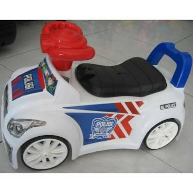 Mobil Polisi Anak Bisa Dinaiki Sl 200 Sg Toys Shopee Indonesia