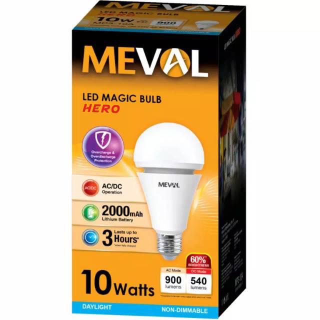 Meval Led Magic Bulb 10 Watt Shopee Indonesia