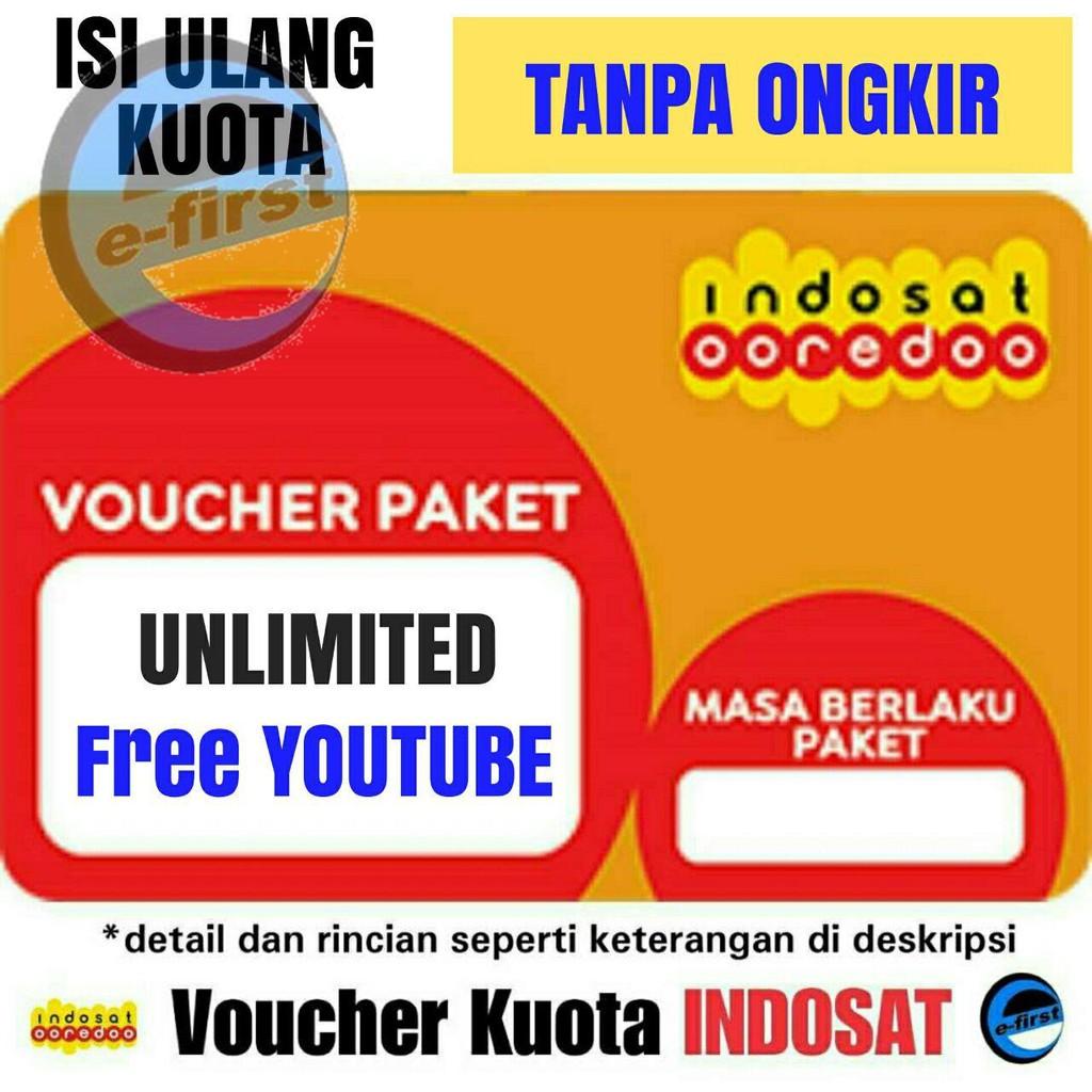 Isi Ulang Kuota Paket Data Indosat Im3 Internet Voucher Elektrik Inject Mentari Unlimited Youtube Shopee Indonesia
